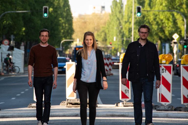 (v.l.) Alexander Knorr, Dr. Isabelle Garzorz und Dr. Lukas Brostek sind die Gründer von cogniBIT. (Quelle: cogniBIT GmbH)